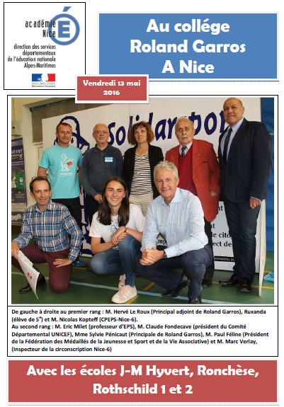 Roland Garros 2016-05-12