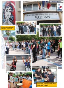 Read more about the article Une journée articulée autour de la citoyenneté au Lycée Vauban