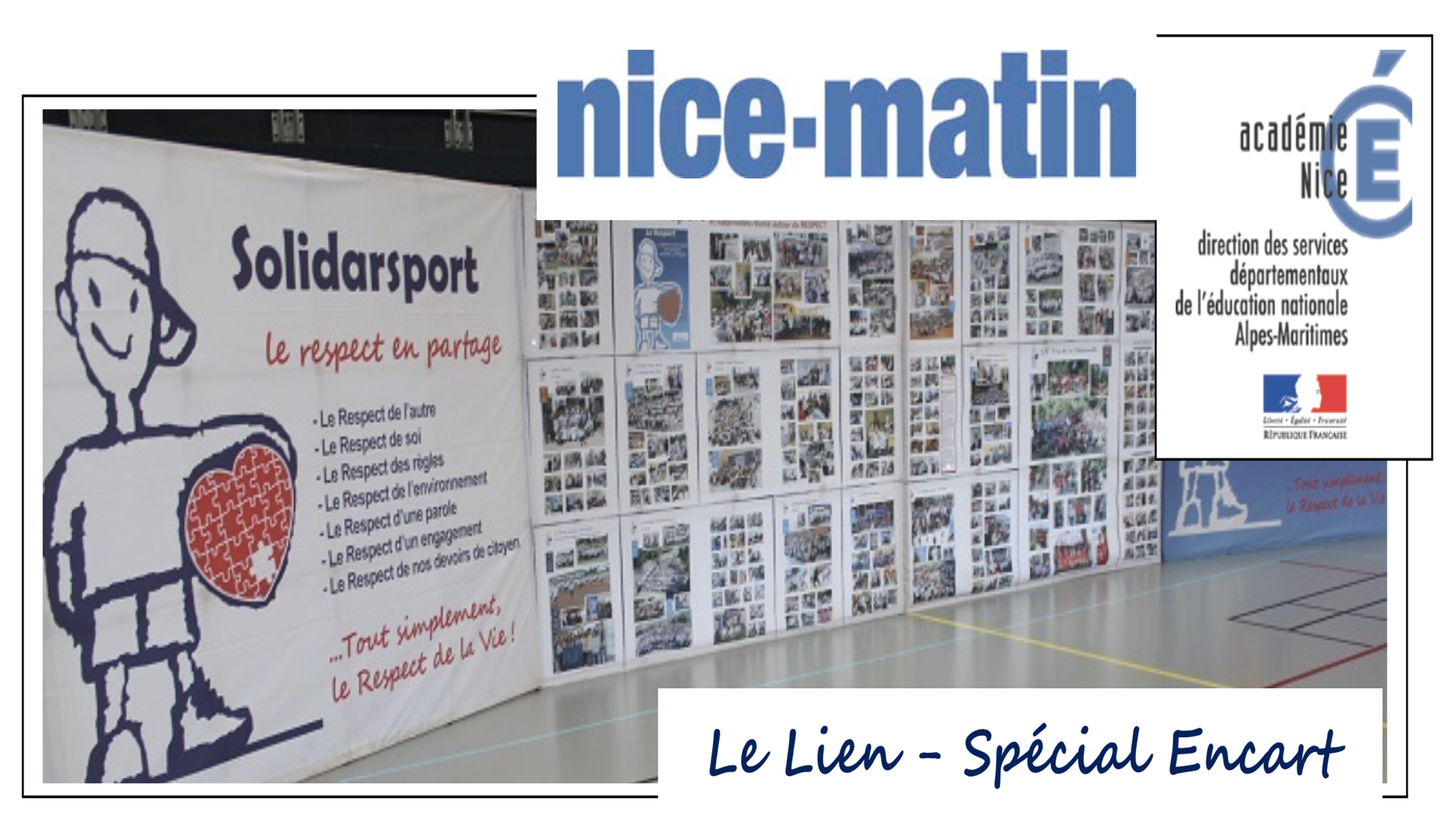 Un Encart Spécial dans Nice-Matin
