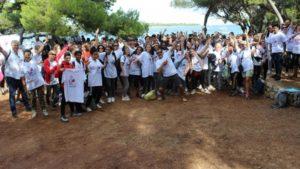 Le lycée De Croisset de Grasse à la conquête de l'île Saint-Honorat